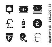 britain icon. 9 britain vector...   Shutterstock .eps vector #1181303488
