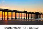 San Diego Beach Sunset And Pie...