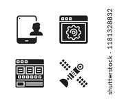 wireless icon. 4 wireless...   Shutterstock .eps vector #1181328832