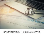 Stethoscope On Computer With...