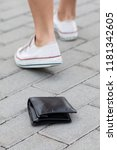 Lost Leather Wallet On The...