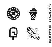 flavor icon. 4 flavor vector... | Shutterstock .eps vector #1181350678