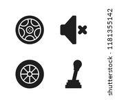 automotive icon. 4 automotive...   Shutterstock .eps vector #1181355142