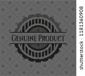 genuine product realistic black ... | Shutterstock .eps vector #1181360908