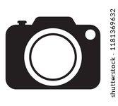 photo camera icon  photo camera ... | Shutterstock .eps vector #1181369632