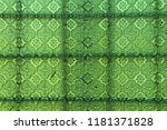 green glass background. old... | Shutterstock . vector #1181371828