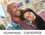 romantic relationship. young...   Shutterstock . vector #1181424928