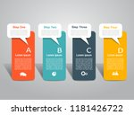 infographic design template... | Shutterstock .eps vector #1181426722