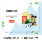 travel agency website homepage...