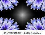 winter frame banner with... | Shutterstock . vector #1181466322