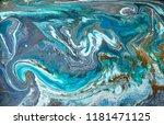 gold marbling texture design.... | Shutterstock . vector #1181471125
