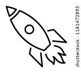 space rocket launch  start...