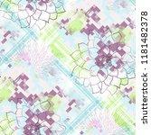 seamless pattern tartan design. ... | Shutterstock . vector #1181482378