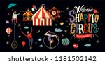 Circus  Vector Illustration On...