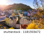 autumn view of old town of...   Shutterstock . vector #1181503672