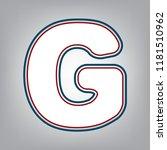 letter g sign design template... | Shutterstock .eps vector #1181510962