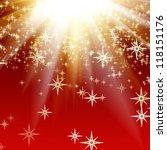 elegant christmas background | Shutterstock . vector #118151176