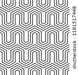 vector seamless texture. modern ... | Shutterstock .eps vector #1181517448