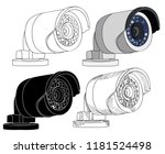 white background  security... | Shutterstock .eps vector #1181524498
