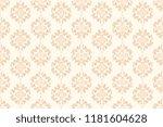 seamless decorative wallpaper... | Shutterstock .eps vector #1181604628