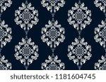 seamless floral wallpaper... | Shutterstock .eps vector #1181604745