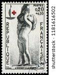 paris  france   dec. 9  1963 ... | Shutterstock . vector #1181616502