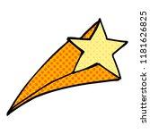 cartoon doodle shooting star | Shutterstock . vector #1181626825