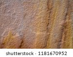 rust stone wall or sandstone... | Shutterstock . vector #1181670952