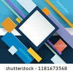 illustration vector of cool... | Shutterstock .eps vector #1181673568