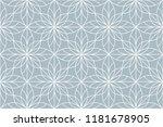 flower geometric pattern.... | Shutterstock .eps vector #1181678905