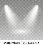 the spotlight shines on the... | Shutterstock .eps vector #1181681215