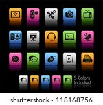 communication icons    color...   Shutterstock .eps vector #118168756
