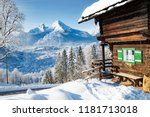 beautiful view of traditional... | Shutterstock . vector #1181713018
