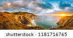 scenic panoramic view of... | Shutterstock . vector #1181716765