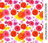 seamless texture pattern from...   Shutterstock . vector #1181720458