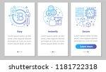 mining business onboarding... | Shutterstock .eps vector #1181722318