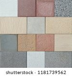 samples of colorful outdoor... | Shutterstock . vector #1181739562