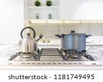 close up of stainless steel... | Shutterstock . vector #1181749495