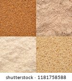 gluten free teff grain and... | Shutterstock . vector #1181758588