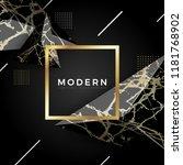 elegant marble luxury...   Shutterstock .eps vector #1181768902