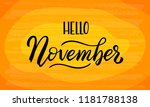 hand drawn typography lettering ... | Shutterstock .eps vector #1181788138