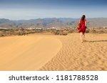 female tourist visits gran... | Shutterstock . vector #1181788528