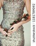 woman hands close up holding...   Shutterstock . vector #1181789092