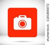 camera  vector icon | Shutterstock .eps vector #1181800072