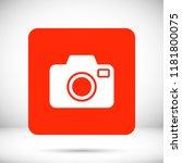 camera  vector icon | Shutterstock .eps vector #1181800075