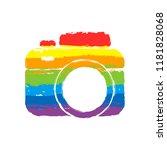 photo camera  simple icon.... | Shutterstock .eps vector #1181828068