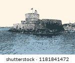 vector illustration of venetian ...   Shutterstock .eps vector #1181841472