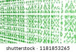 green hexadecimal codes on a... | Shutterstock . vector #1181853265