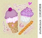 sweets   Shutterstock . vector #118185808
