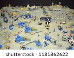 lego collections exhibition at...   Shutterstock . vector #1181862622